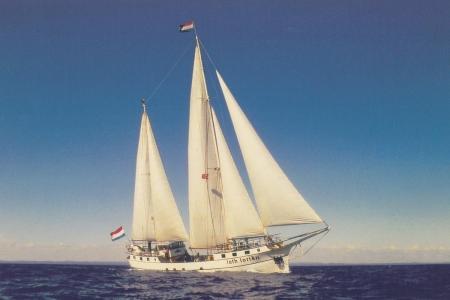 Für den Umbau brauchte ich 3 Jahre und die Hilfe vieler Freunde.1991 ging es dann los auf die Ostsee.