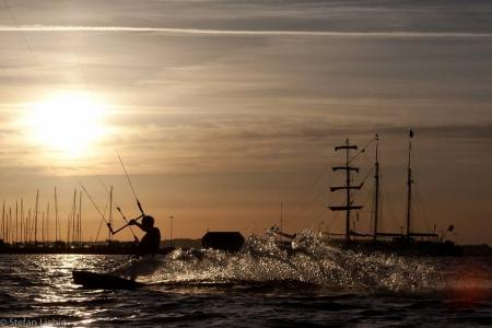 Kite the Baltic