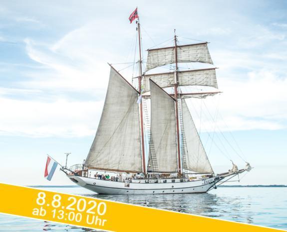 Hanse Sail 2020: Segeltörn auf luxus dem Großsegler J.R.Tolkien