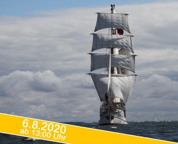 Hanse Sail 2020: Segeltörn auf luxus dem Großsegler Loth Loriën
